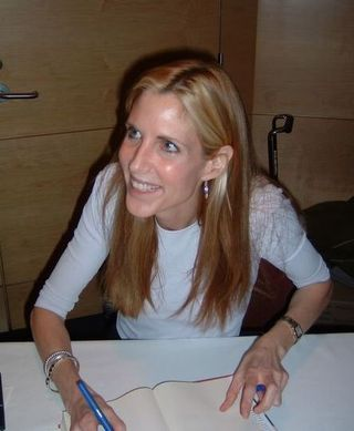 Ann coulter showing her ass