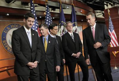Republican all white male leadership