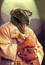 raptor_jesus_hungers_by_dshinnie